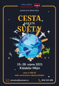 Letní tábor 2021 - Cesta kolem světa